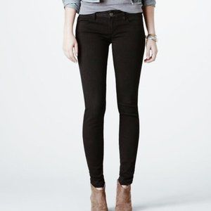American Eagle Black Super Stretch Skinny Jeans